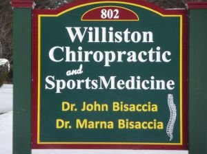 Williston Chiropractic sign
